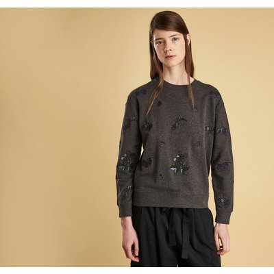 여성 에블린 자수 맨투맨 티셔츠 (Barbour Evelyn Embroidered Sweat) BAH2LOL0083CH91