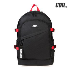 [CTRL]A-3 MILITARY BACKPACK (BLACK/RED) 백팩 가방