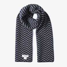 ★30%OFF★본사정품 Chevron Wide Scarves (NVY) HYMU1936201-NVY