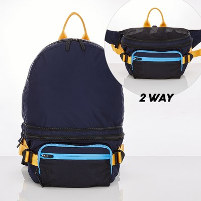 스트레치엔젤스[L.P.Y] 2WAY backpack M (Black)