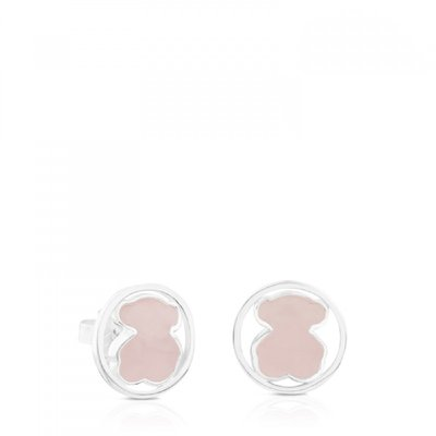 [최초출시가 123,000원]Silver Camille Earrings with Rose Quartz/귀걸이/712163610