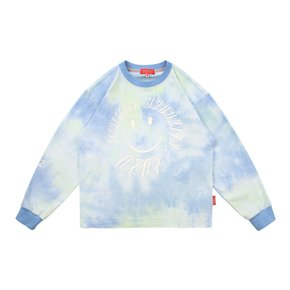 Icebiscuit tie-dye long sleeve tee