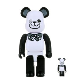 400%+100% BEARBRICK FREEMASONRY X FRAGMENTDESIGN WHITE