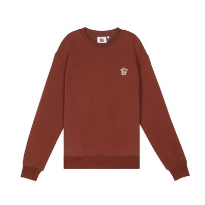 [FW19 T&J] One Point Sweatshirts(Brown)
