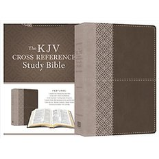 Holy Bible (Paperback)  - King James Version, Cross Reference Study Bible, Stone