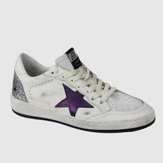 여성 BALL STAR 스니커즈 G35WS592 A21 WHITE GLITTER/METALLIC PURPLE [GGS289]
