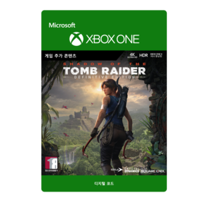 XBOX  쉐도우 오브 더 툼레이더 /SHADOW OF THE TOMB RAIDER:DEFINITIVE EDITION EXTRA