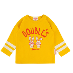 Double's rabbit baby long sleeve teeBP9122159