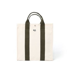 쿠커리 Big House Tote (ecru olive)
