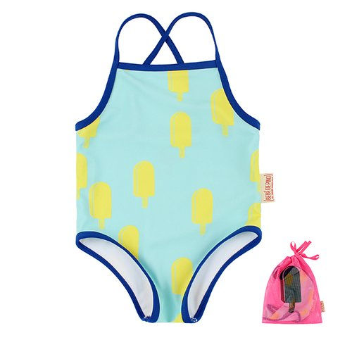 Multi ice cream bar swimsuit / BP7216435
