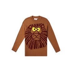 [FW19 Pink Panther] Lion PP Knit(Brown)