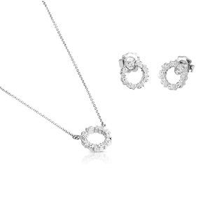 Straight collection set in Silver/세트/912723582