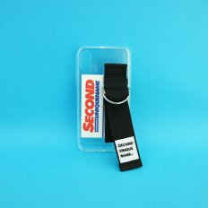 SUN CASE CLEAR BLACK (CARD) (JELLY CASE)