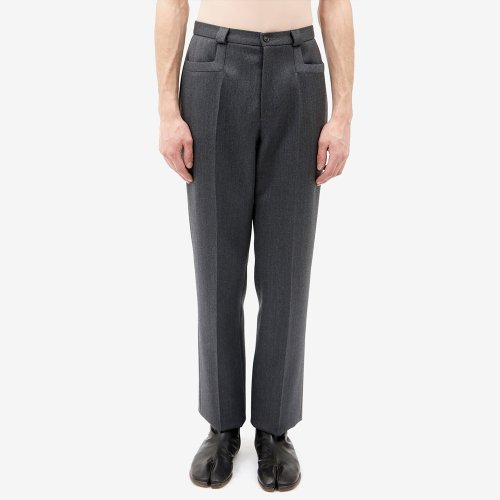 [MAISON MARGIELA/메종마르지엘라] CLASSIC TAILORED WOOL TROUSER GREY S67KA0004S48842 855M