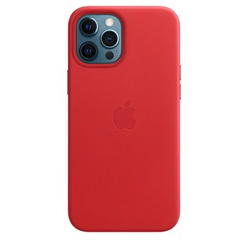 MagSafe형 iPhone 12 Pro Max 가죽 케이스 - (PRODUCT)RED
