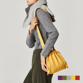 Lucky Pleats Knit Crossbag S 5 colors (KNITBAGSWRAMA)