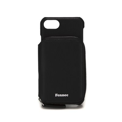 FENNEC LEATHER iPHONE 7/8 MINI POCKET CASE - BLACK