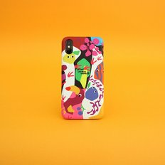 SUN CASE GRAPHIC FRUIT WHITE