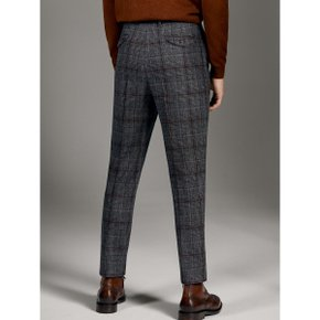 LIMITED EDITION SLIM FIT CHECK WOOL TROUSERS 00016059802