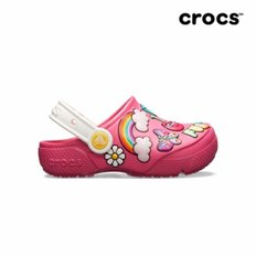 크록스공식 크록스공식 아동 CROCS FL PLAYFUL PATCHES CLOG K PDP  19SKBS205444