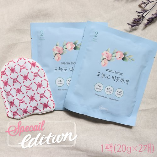 Special Edition 국내생산 발핫팩 40g(20g 2개) 1팩