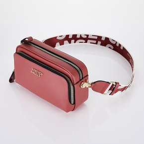 [파니니백]PANINI metal logo solid bag (Dark red)