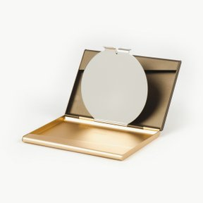 FINE CARD BOX MIRROR 소프트골드