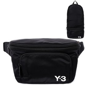 Y-3 20SS 블랙 PACKABLE 백팩 벨트백 FQ6993