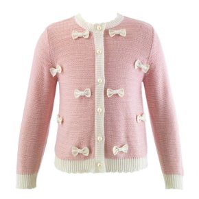 Bow Front Cardigan