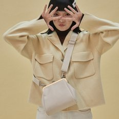 [펀프롬펀]Olsen frame mini bag (ivory)