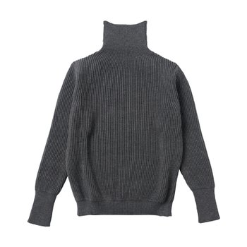 NAVY TURTLENECK GREY