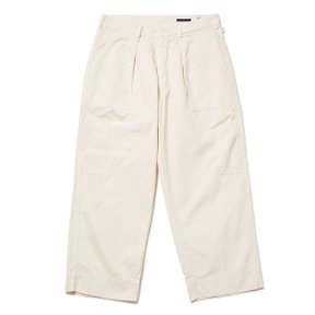 MARLON FATIGUE PANTS MILITARY ECRU