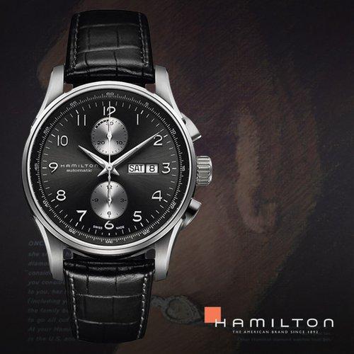 ebaf483c7c8 HAMILTON 해밀턴 H32766783 남성시계 가죽밴드 손목시계