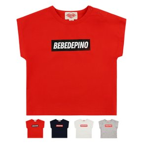 Basic baby bebedepino logo loose fit tee / BP9224102