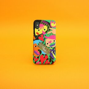 SUN CASE GRAPHIC HUMAN GREEN