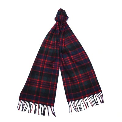 바버 뉴 체크 타탄 머플러 그린 (Barbour New Check Tartan Scarf) BAI2USC0137GN91