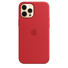 MagSafe형 iPhone 12 Pro Max 실리콘 케이스 - (PRODUCT)RED