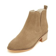 Suede ankle boots(beige)_DG3CX18560BEE