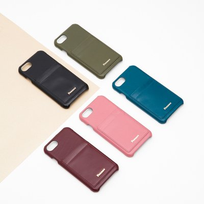 Fennec Leather iPhone7+/8+ Card Case (7color)