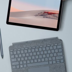 [Microsoft] Surface Go Signature Type Cover Ice Blue(KCS-00121)