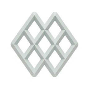 RHOM TRIVET LIGHT GREY