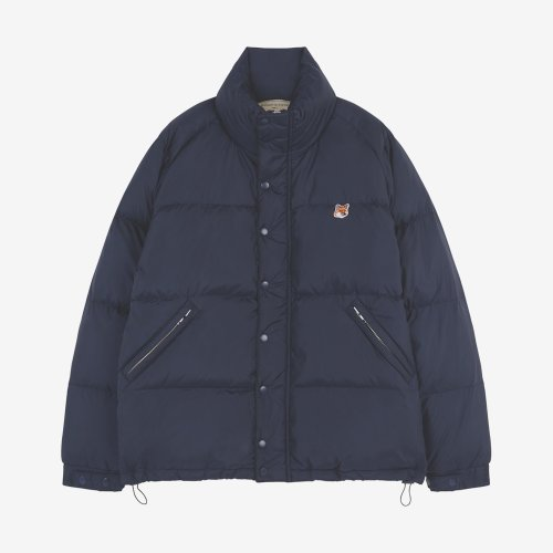 [PRE-ORDER] 19FW DOWN JACKET FOX HEAD PATCH NAVY MEN DU02214WQ0002