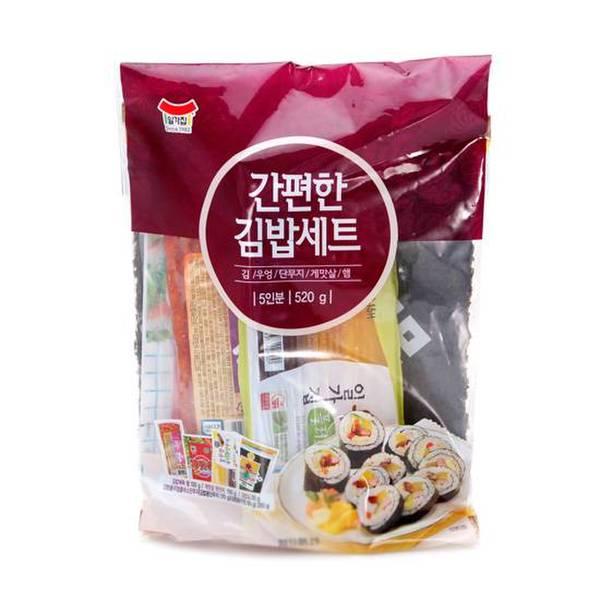 일가집 간편한 김밥세트 520g