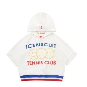 Icebiscuit tennis club terry hoodie
