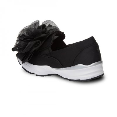 [파주점] 송혜교슈즈 Lacey slip on(black) (DG4DX20019BLK)