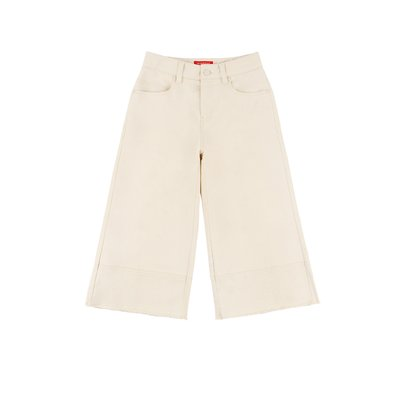 [20% SALE] Icebiscuit cut-off wide cropped pants