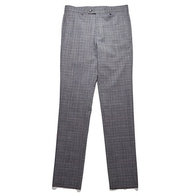 melange check single suit pants_CWFCM18457GYX