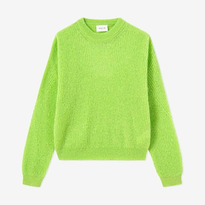WOOD WOOD 우드우드 TILDA SWEATER BRIGHT GREEN
