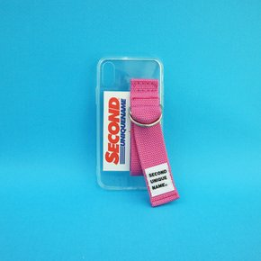 SUN CASE CLEAR PINK (CARD) (JELLY CASE)