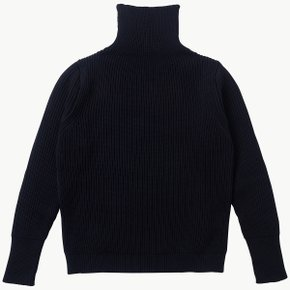 NAVY TURTLENECK NAVY BLUE